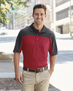 Men's Two Color Performance Polo