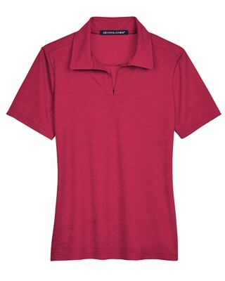 Official Women's Crown Luxe Polo Short Sleeve