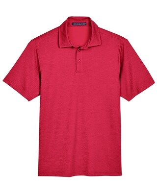 Official Red Club shirt for Men - Crown Luxe Polo Short Sleeve