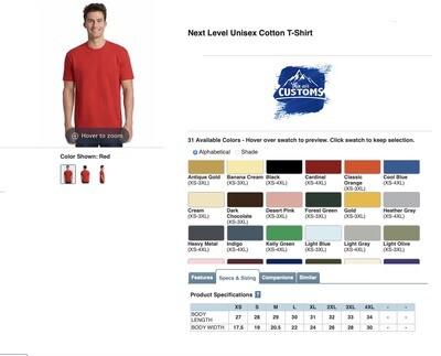 Men's Short Sleeve Cotton