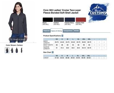 Women's Soft-shell Jacket