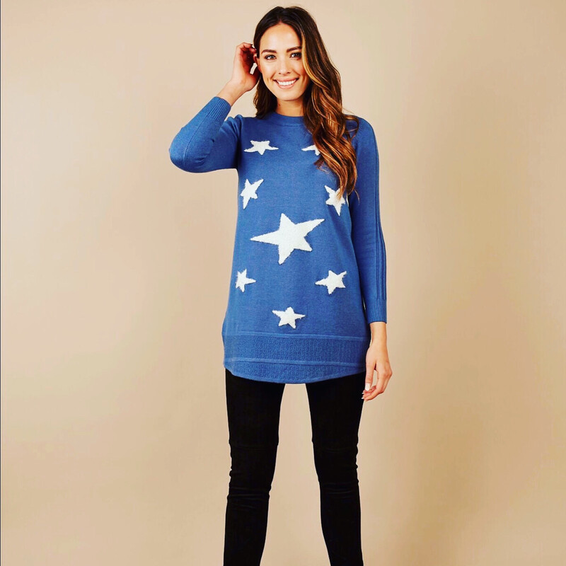 Knitted star Tunic