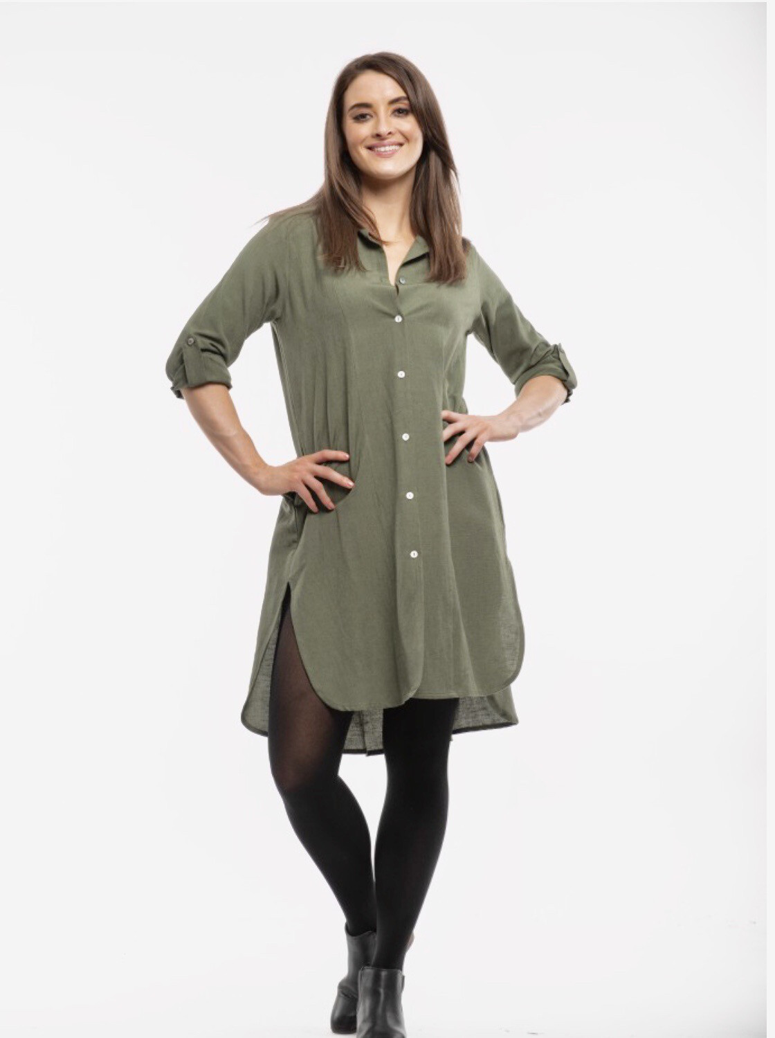 Essential Linen Dress