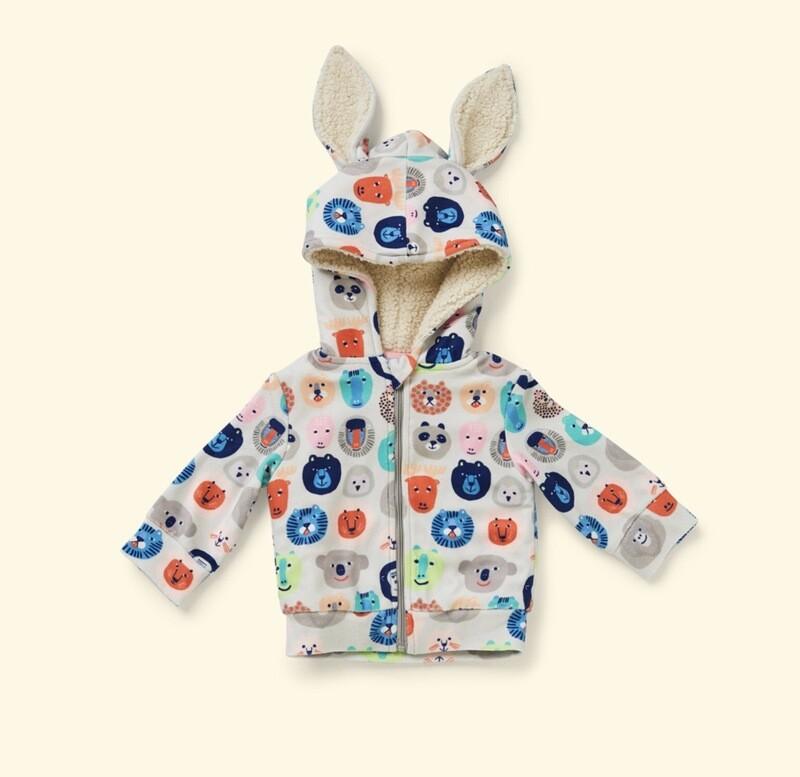 Velour Bunny Jacket