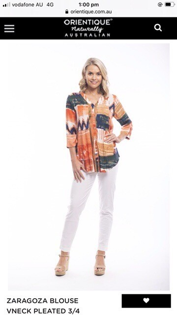 Zaratoga blouse