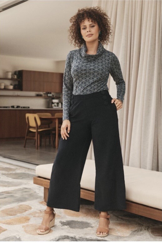 Cord Wide Pant