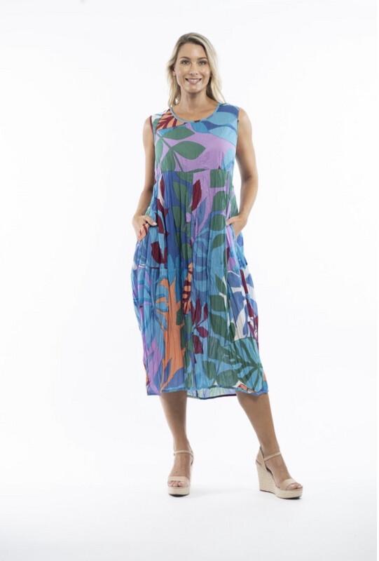 MIDI Length Cotton dress