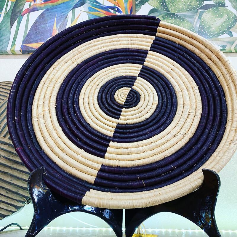 African Woven Platter