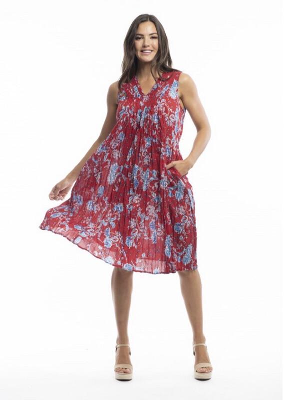 Ezyfit Pleat dress