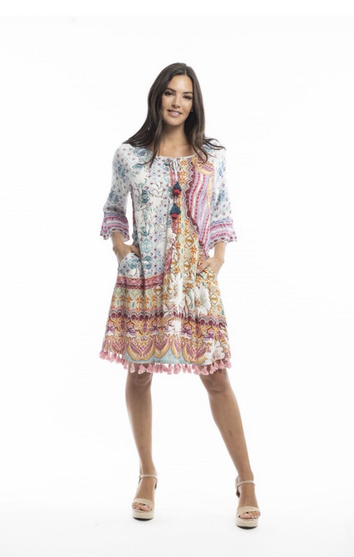 3/4 Sleeved Dress