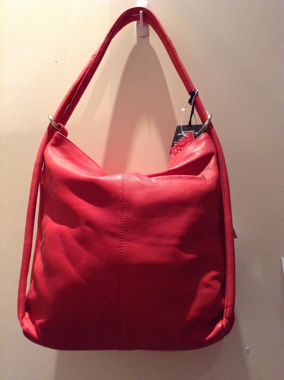 Leather Handbag/Backpack.