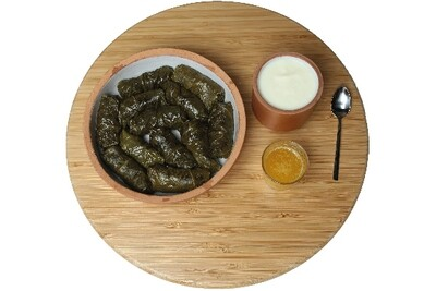 Dolma [stuffed vine leaves]