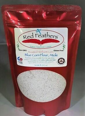 Atole, Blue Corn Flour, Heirloom, Roasted 16 oz