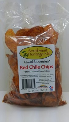 Red Chile Potato Chips