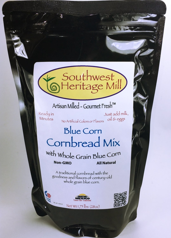 Blue Corn Cornbread Mix