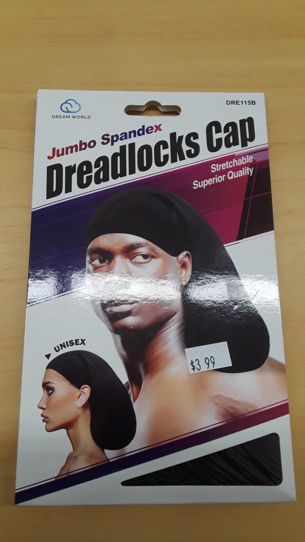 Dream W- Dreadlocks Cap Jumbo (Black
