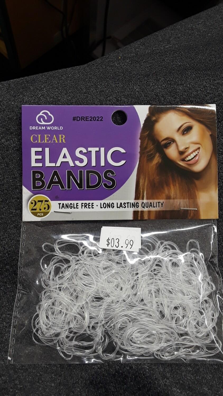 Clear Elastic Bands 275 pcs