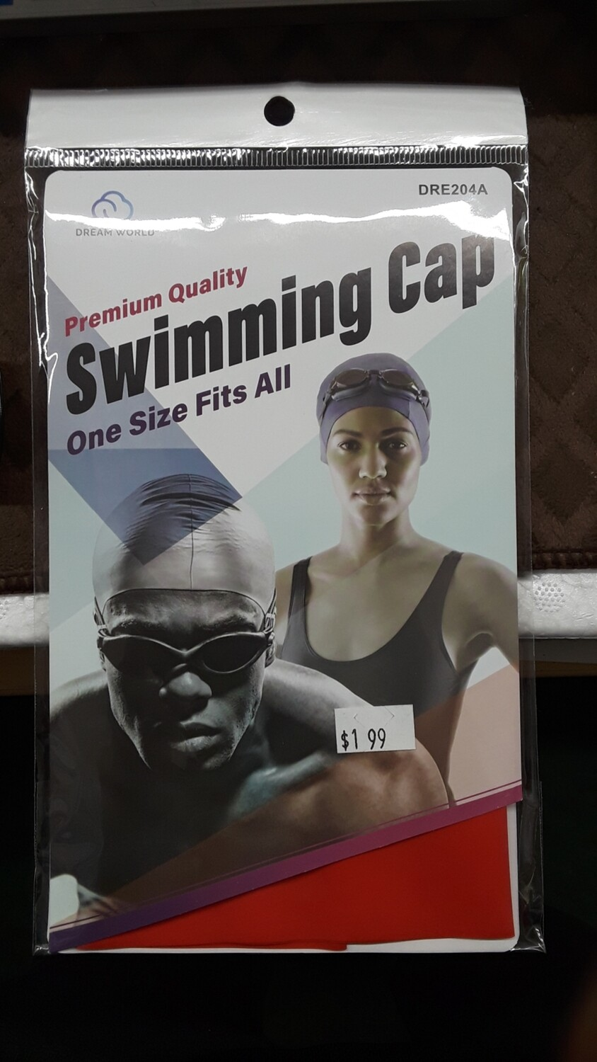Premium Quality Swimming Cap One Size Fits All
