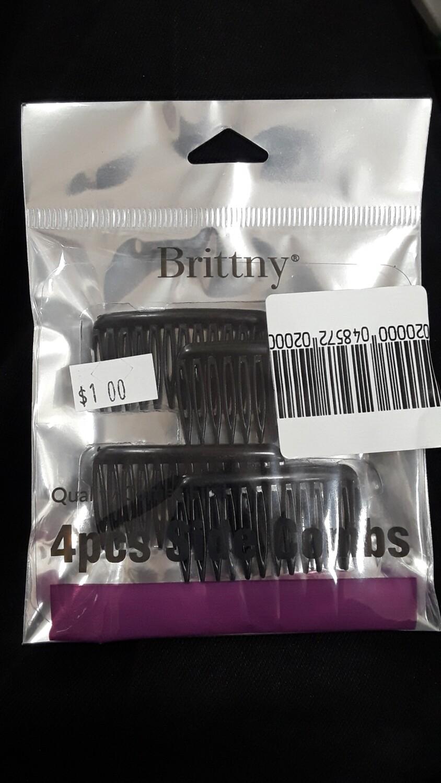 4pcs Side Combs