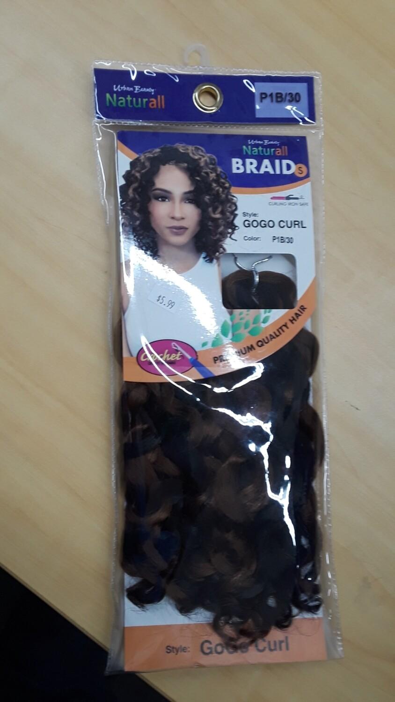 Naturall Braid  GoGo Curl P1B/30