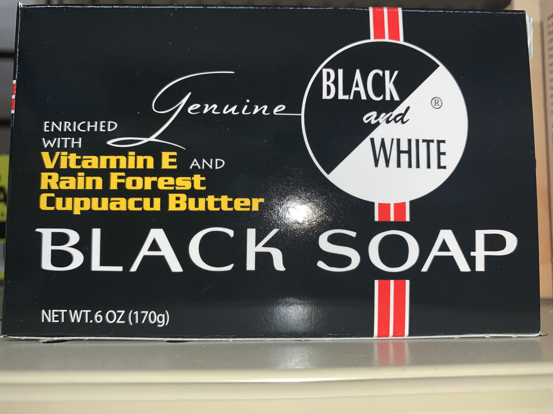 Black& White Black Soap 6 Oz.