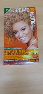 Creme Of Nature C43 Lightest Blonde