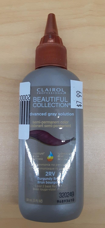 Clairol 2RV Burgundy Brown