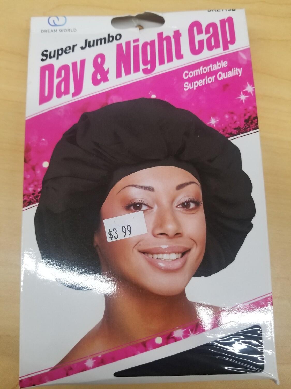 Super Jumbo Day & Night Cap, Black