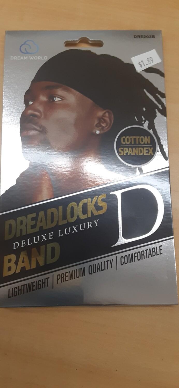 Cotton Spandex Dreadlocks Band