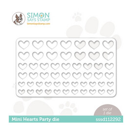 SSS MINI HEARTS PARTY DIE
