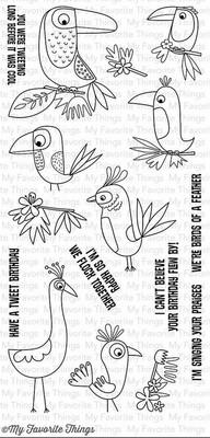 MFT BIRDS OF PARADISE STAMP
