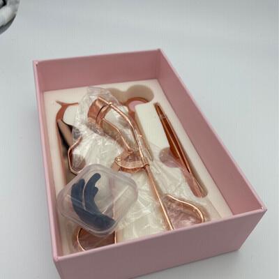 Lash Tool Kit (4pcs) Rose Gold
