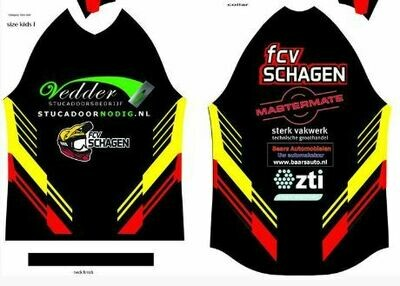 FCV Schagen clubshirt met naam