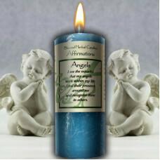 Angel Affirmation candle