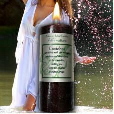 Goddess Affirmation candle