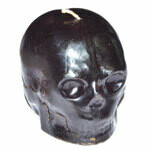 Skull large black
