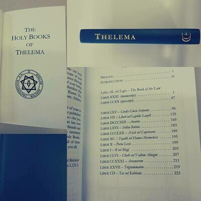 Thelema Holy Books hc Conjoined Creations