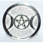 Triple Moon altar tile 3.5""