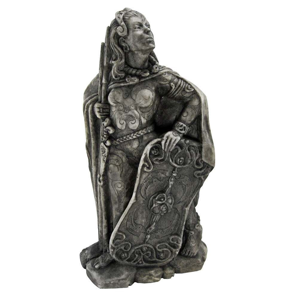 Small Morrigan statue