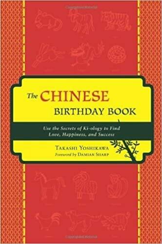 Chinese Birthday Book by Takashi Yoshikawa