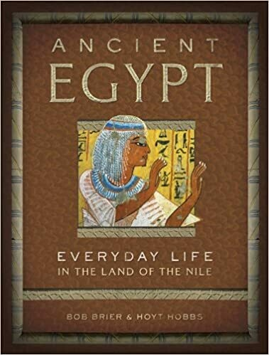 Ancient Egypt Everyday Life (hc) by Brier & Hobbs