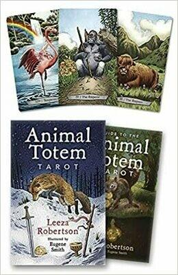 Animal Totem tarot dk & bk