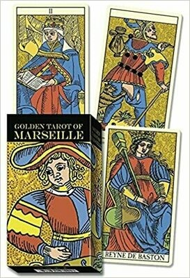 Golden Tarot of Marseille tarot