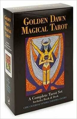 Golden Dawn Magical Tarot By Chic Cicero