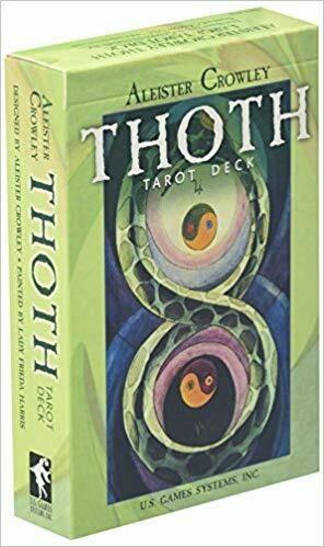 Thoth tarot large green
