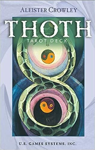 Thoth tarot large purple