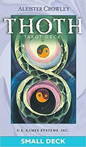 Thoth tarot small purple