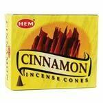 Cinnamon HEM cones