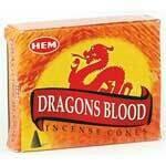 Dragons Blood HEM cones