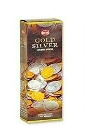 Gold Silver HEM square